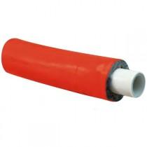 Tubo multistrato coibentato 10mm rosso 20X2 Giacomini R999IY240