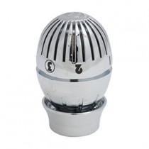 Testa termostatica cromata lucida con sensore a liquido Giacomini T470CX001