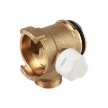 Collettore per impianti sanitari con rubinetto attacco 16 Giacomini R585MY105