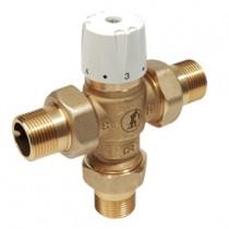 Miscelatore termostatico con chiusura termica Attacchi 12 Kv 1,3 Giacomini R156Y223