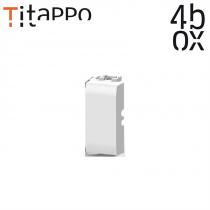 4box TiTappo - Tappo copriforo con stripper integrato per Bticino Matix 4B.AM.TT