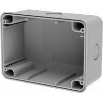 4Box Scatola a parete per Idrobox WIDE IP66 grigio 4B.WB.RAL.RAL.015