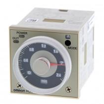 Temporizzatore multifunzione 48x48 2448V AC-DC a innesto Omron H3CR-A8E 24-48VACDC