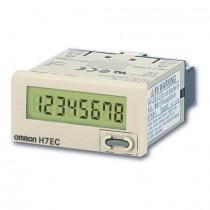 Totalizzatore LCD autoalimentato 8 cifre Omron H7EC-N