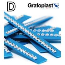 Anellino Lettera D confezione 240 pz  Grafoplast  BL117GDDBW