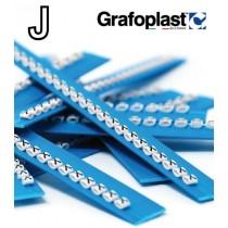 Anellino Lettera J confezione 240 pz  Grafoplast  BL117GJJBW