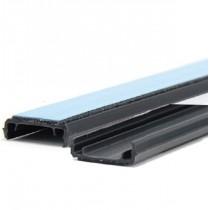 Binario adesivo per targhette in pvc Altezza 15mm x 1 Mt cf 35 Pezzi Grafoplast SIT0B15MT