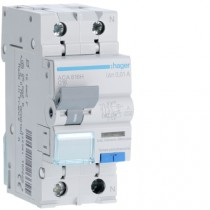 Magnetotermico Differenziale 1 Polo+N 16A 10MA A 4,5KA Hager ACA816H