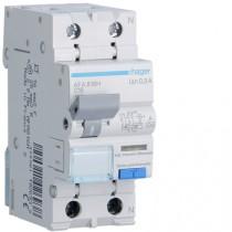 Magnetotermico Differenziale 1 Polo+N 16A 300MA A 4,5KA Hager AFA816H