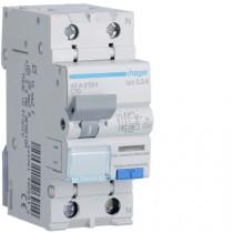 Magnetotermico Differenziale 1 Polo+N 10A 300MA A 4,5KA Hager AFA810H