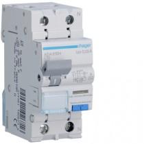 Magnetotermico Differenziale 1 Polo+N 10A 30MA A 4,5KA Hager ADA810H