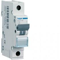 Magnetotermico 1 Polo 10A 4,5KA C 1 Modulo Hager MYN110