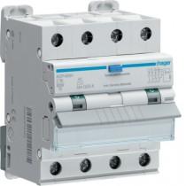 Magnetotermico Differenziale 4 Poli 10A 30MA AC 6KA  Hager  ADP460H