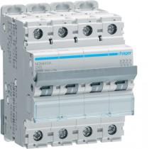 Magnetotermico 4 Poli 40A 10KA C 4 Moduli Hager NCN440A