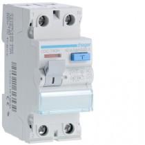 Differenziale Puro 2 Poli 40A 30MA AC 2 Moduli Hager CDC740H