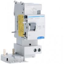 Blocco Differenziale 2 Poli 25A 500MA AC 2 Moduli Hager BG226N