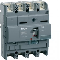 Magnetotermico scatolato 4 Poli 250A 40KA Hager HNB251H