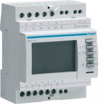 Multimetro V-A-HZ-H 4 Moduli Hager SM101E