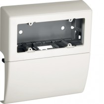 Scatola porta apparecchi SBA6 W 6 Moduli Bianca TBA Bocchiotti B04044