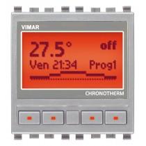 Termostato per residenziale grigio Vimar Eikon NEXT