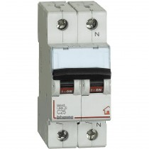 Interruttore automatico magnetotermico 1P+N 25A 4,5KA BTicino FC810NC25