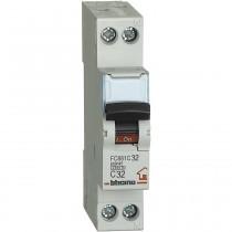 Interruttore automatico magnetotermico 1P+N 32A 4,5KA BTicino FC881C32