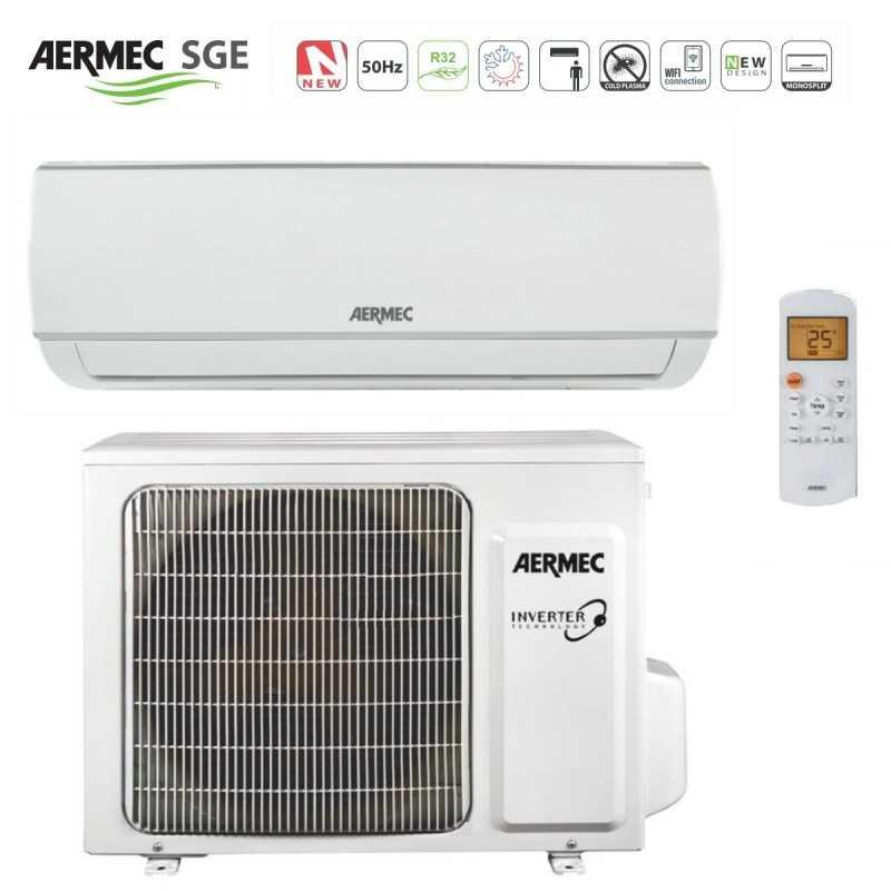 Climatizzatore Inverter 12000 Btu Gas R32 Aermec SGE350W