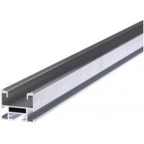 Profilo in Alluminio per Installazioni Semi Integrate Fischer Solar Light 3,35 Mt