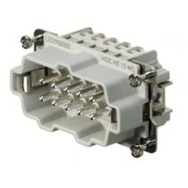 Connettore Maschio a Vite 500V 16A Poli 10 HDC Weidmuller 1203900000