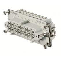 Connettore Femmina a Vite 500V 16A Poli 16 HDC Weidmuller 1207700000