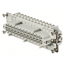 Connettore Femmina a Vite 500V 16A Poli 24 HDC Weidmuller 1211300000