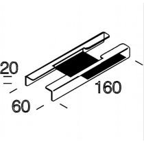 6010 Rapid System - Giunto lineare per canale Disano 13290200