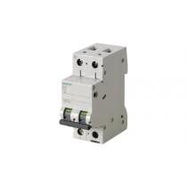 Interruttore Automatico Magnetotermico 2P 2 Moduli 10A 6kA  Siemens 5SL62107BB