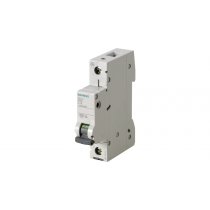 Interruttore Automatico Magnetotermico 1P 1 Modulo 6A 6kA  Siemens 5SL61067BB