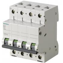 Interruttore Magnetotermico 4 poli 63A 10KA Siemens 5SY44637