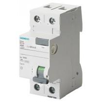 Interruttore Differenziale puro 25A 0,3 Tipo A Siemens 5SV36126