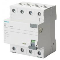 Interruttore Differenziale puro 4 poli 40A 0,03 Tipo A Siemens 5SV33446