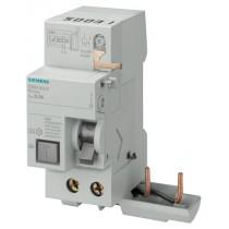 Blocco differenziale puro Bipolare AC 40A 300mA per serie 5SL Siemens 5SM26230