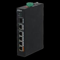 Switch a 4 Porte PoE Distanza di trasmissione 250mt Dahua PFS3106-4ET-60