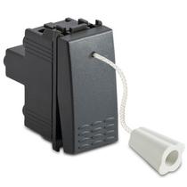 Pulsante a tirante 1P NA 16A 250V completo di corda 2,25 cm grigio -Sistema Modo