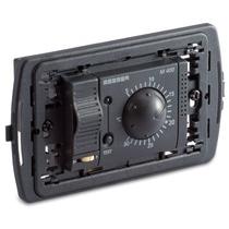 Termostato ambiente elettronico a 3 moduli da incasso grigio