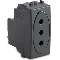 Presa Master P11 2P+T 10A grigio Sistema Modo