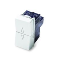 Pulsante doppio Master 1P/NA+1PNA 16AX 250V Sistema MIX