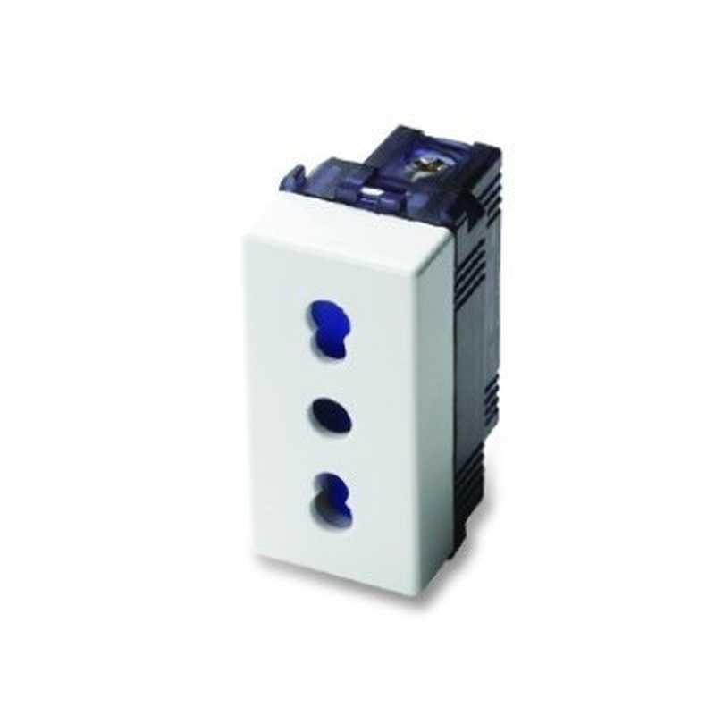 Presa Master P11/P17 2P+T 10/16A Bipasso Sistema MIX