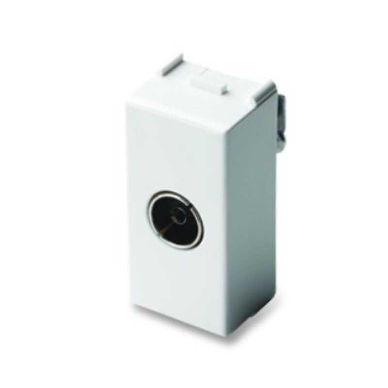 Presa TV Master RJ45 9,5mm pass./finale Sistema MIX