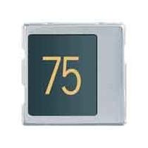 Modulo numero civico Urmet Sinthesi in alluminio anodizzato. 1145/50