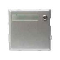 Modulo Sinthesi Urmet in alluminio anodizzato 1 pulsante 1145/11