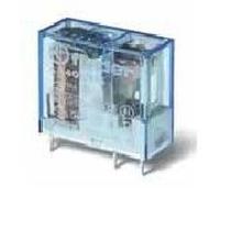 Mini relè per circuito stampato ed a innesto bobina 12V DC 2 contatti