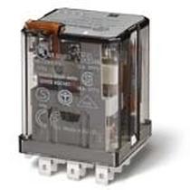 Relè di potenza ad innesto su zoccolo 3 contatti 16A 24V AC Finder 62338024