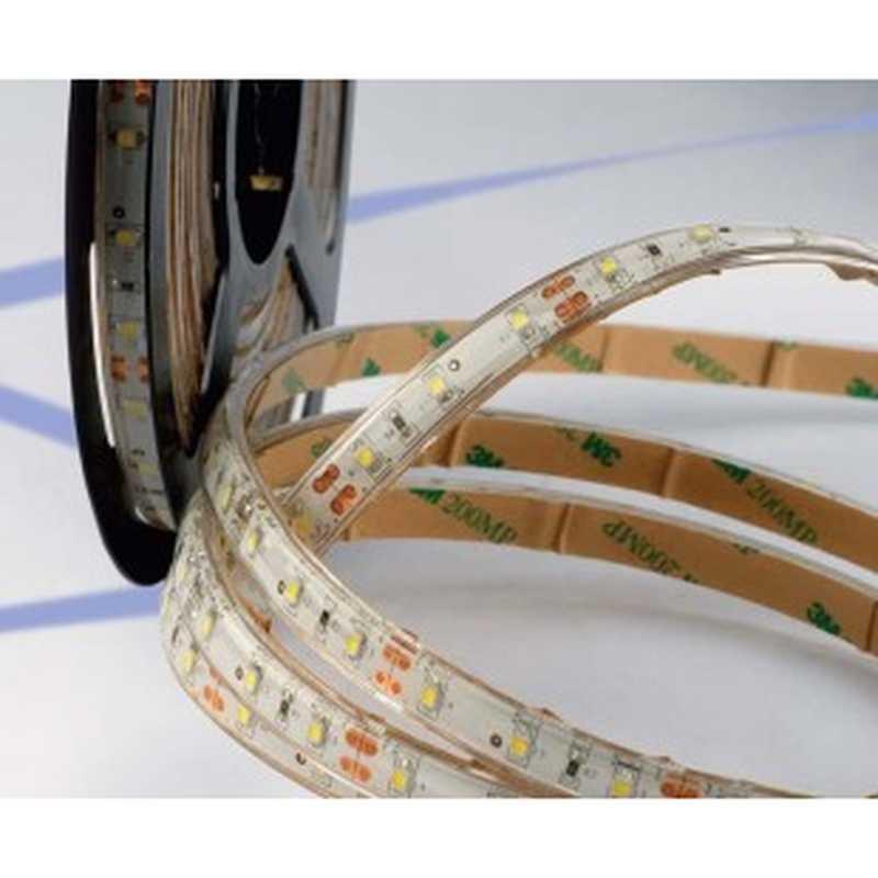 Striscia 300 led adesiva 5 metri 35x28 tonalita 39 bianco for Striscia led adesiva